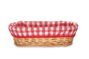 Paniers à pain osier nature clair